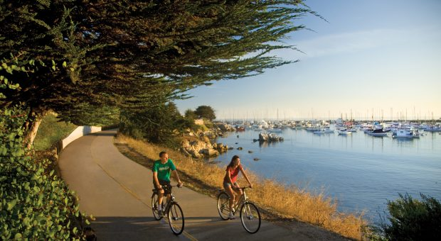 Witness natural beauty on the nearby Monterey Bay Coastal trail.