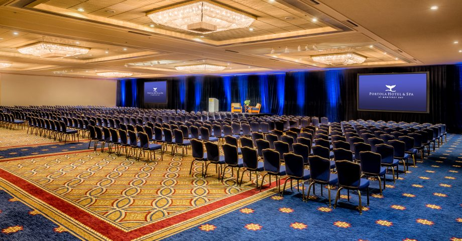 Work in style in more than 60,000 square feet of meeting space and a location adjacent to the Monterey Conference Center.