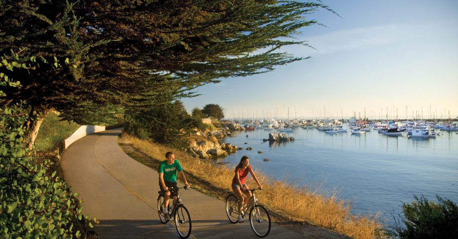 Explore the natural beauty on the nearby Monterey Bay Coastal trail.