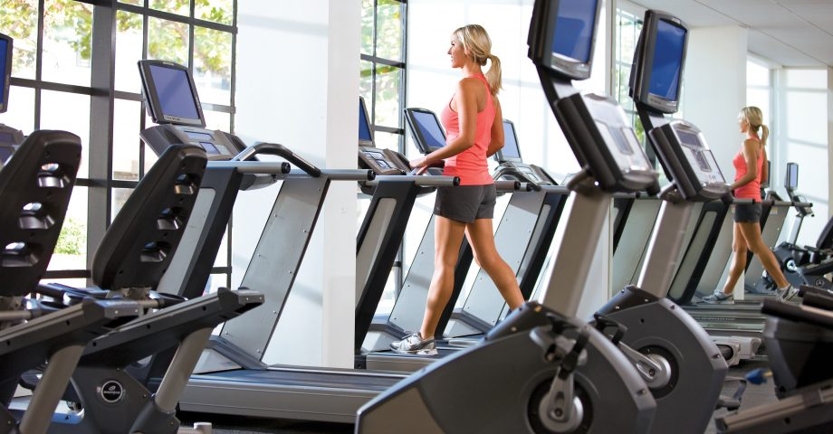 Work out in our complimentary fitness center.