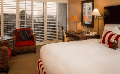 Harbor View King Room at Portola Hotel & Spa