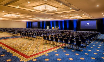 Meeting and event space at Portola Hotel & Spa at Monterey Bay