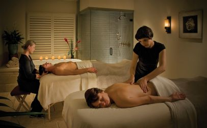 Spa on the Plaza at Portola Hotel & Spa couple massages