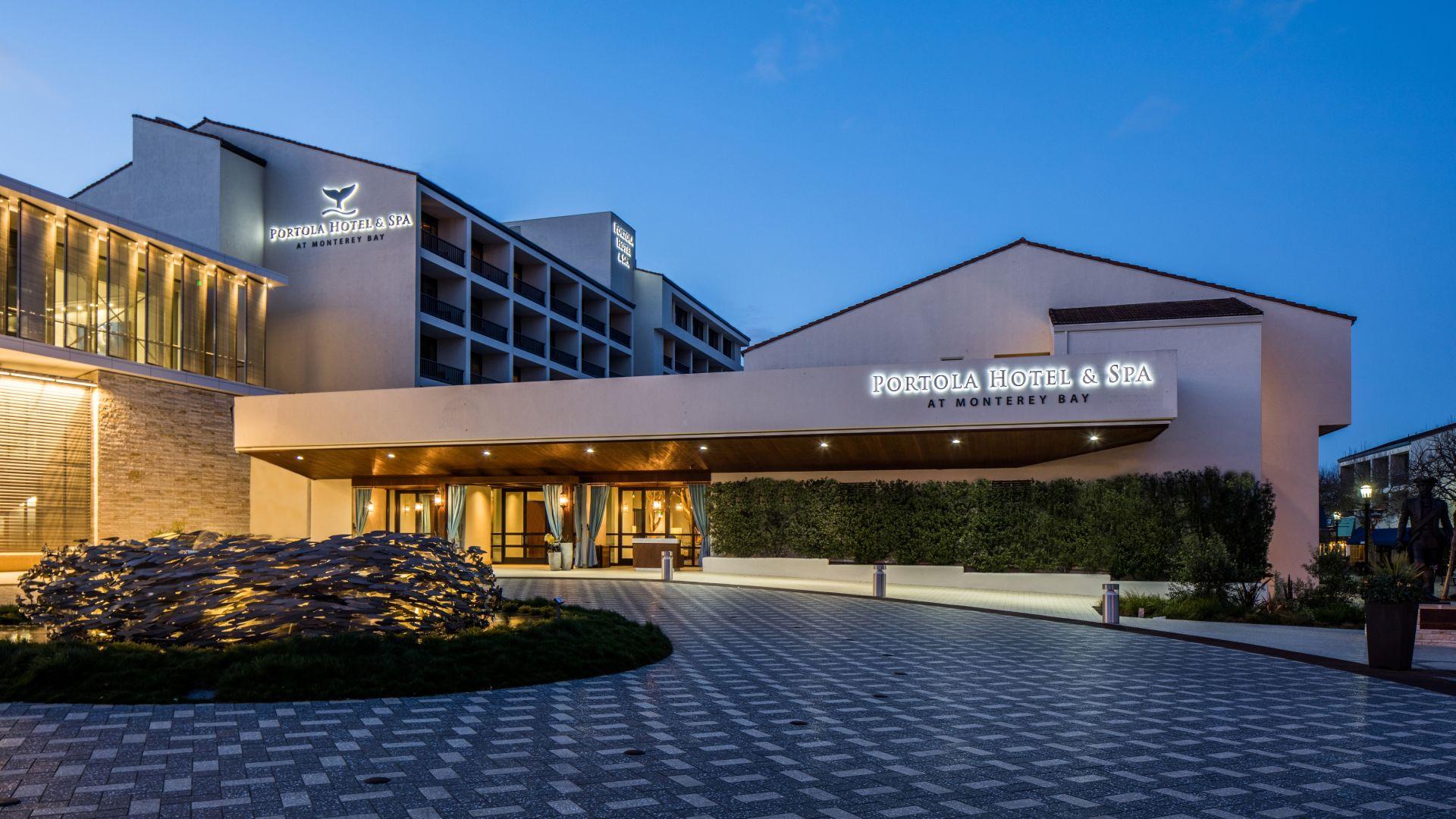 Hotels In Monterey Ca >> Monterey California Hotel Portola Hotel Spa