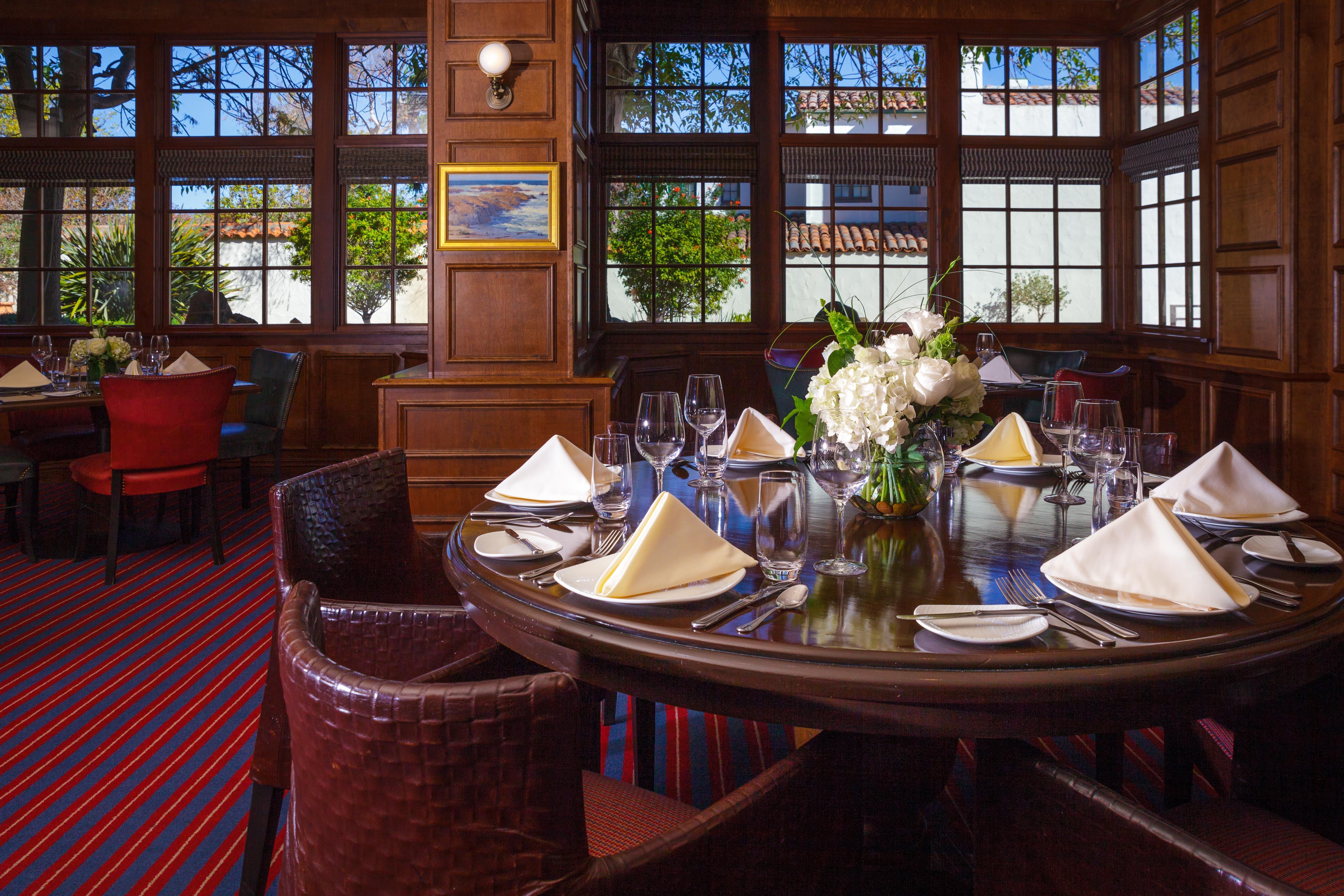 Monterey Event Venues The Club Room Portola Hotel